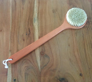 Cactus Fiber Natural Back Brush.