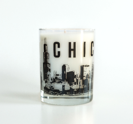 Chicago Candle by Bright Endeavors