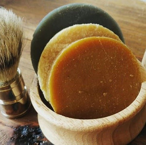Hemp and Vetiver Shave Puck