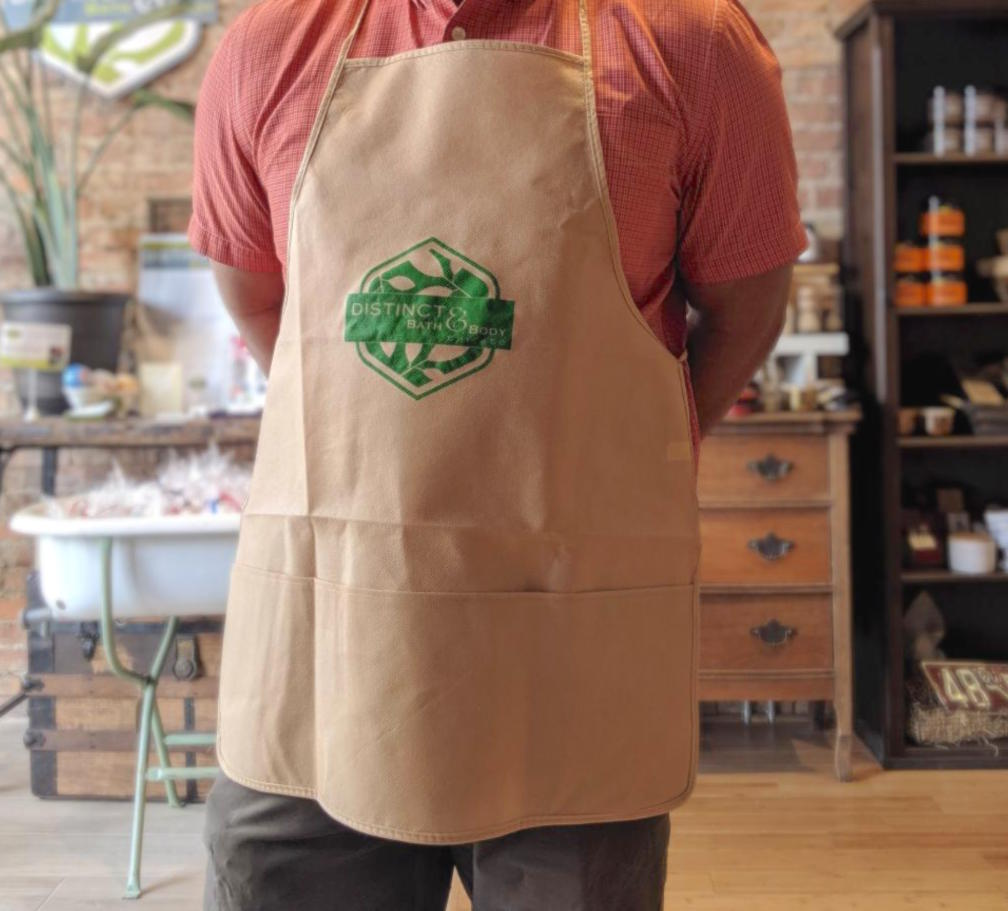 Distinct Bath & Body Apron
