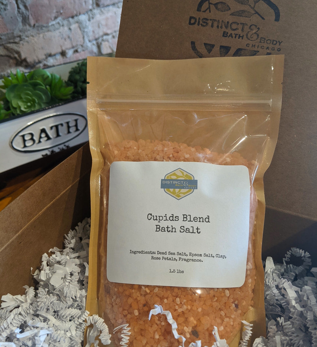 Cupid's Blend Bath Salts for Valentine's Day