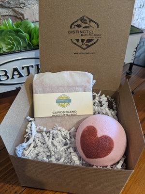 Cupid's Blend Soap & Bath Bomb Duo for Valentine's Day