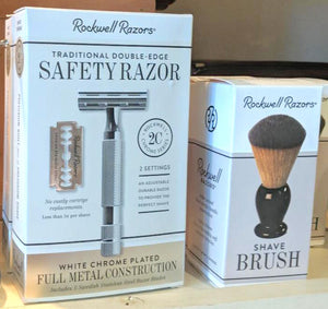 Rockwell Razor 6C Double Edge Safety Razor with 5 Free Blades