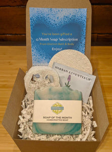 12 Month Subscription Soap Box