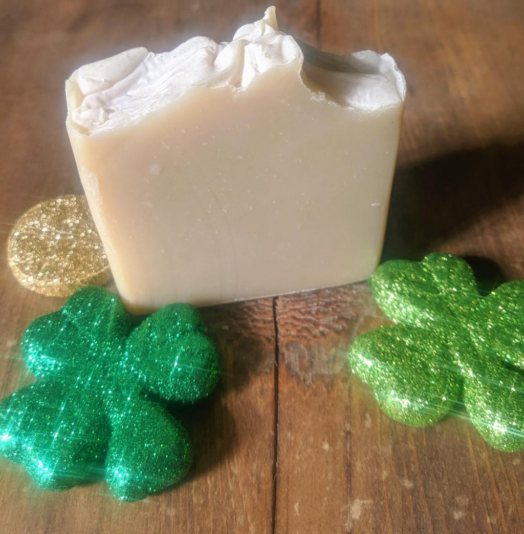 Shamrock Soap for St. Patrick's Day - 20% OFF!