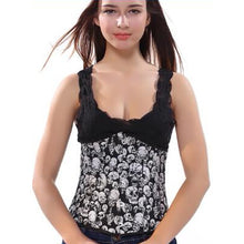 Gothic Women's Corset and Bustier Sexy Lace Up Top Shirt