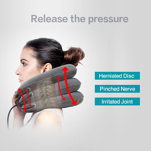 Cervical Neck Traction Device for Neck Pain Relief Pillow Correct Posture