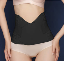 Drawing Abdomen Belt Waist Belt Postpartum Girdle Belt