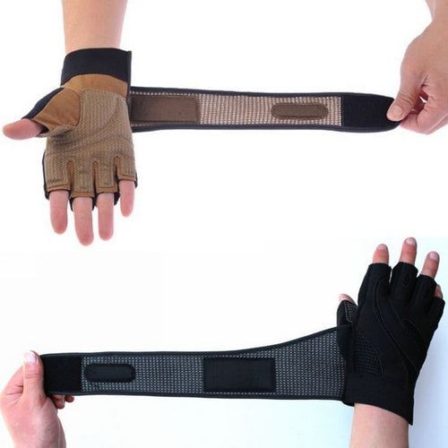 Body Building Training Fitness Gloves Sports Equipment Weight Lifting Workout Breathable Wrist Wrap