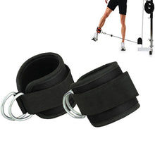 Crossfit Ankle Cuffs Resistance Bands Latex Elastic Bands For Fitness Leg Training