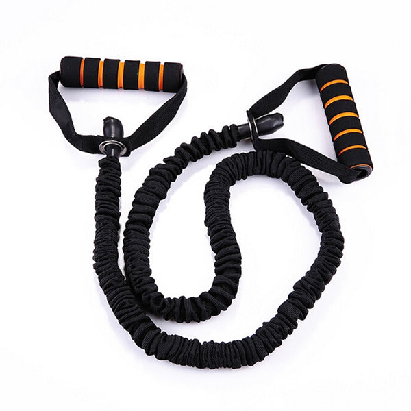 120cm Yoga Pull Rope Elastic Bands for Fitness Rope Resistance Bands Exercise Equipment Workout Gym Training Pilates Rubber