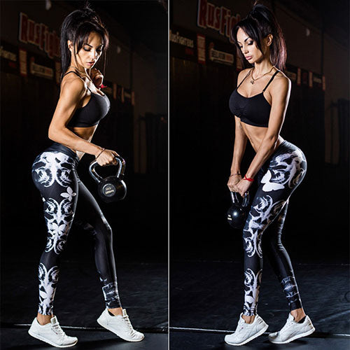 Women Running Pants Sexy Skinny Fitness Tight Leggings