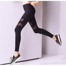 Mesh Yoga Leggings Elastic Yoga sport leggings