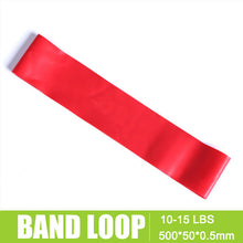 Rubber Loop Fitness Band Unisex Yoga Sports Elastic Expander Resistance Bands Elasticas Pull Rope Crossfit Bodybuilding