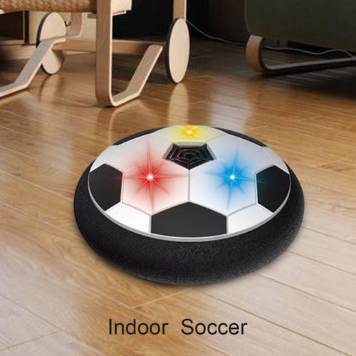 Colorful LED Light Electric Suspended Game Lighting Air Cushion Football