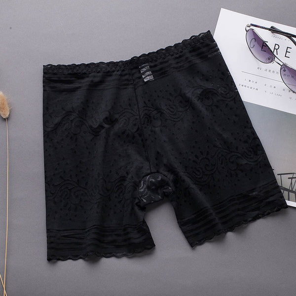 Women Safety Short Pants Soft Seamless Breathable Short Tights Under Skirts