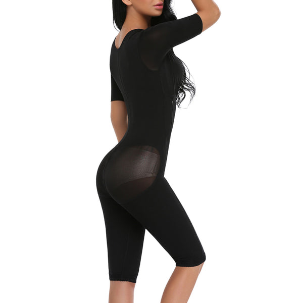 Full Body Tummy Control Shaper Post-Surgery BodySuit Powernet Waist Trainer Corset Shapewear