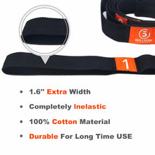 Yoga Stretch Strap Elasticity  Yoga Strap with Multiple Grip Loops