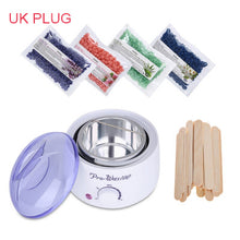 Hair Removal Electric Wax Warmer Machine Heater Hair Removal Sets Waxing Kit