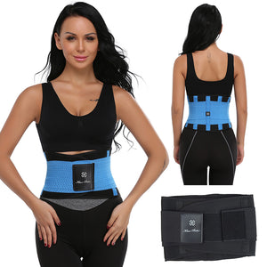 Men Women Belt Slimming Thermo Body Shaper Waist Trainer Tummy Control Trimmer Shapewear