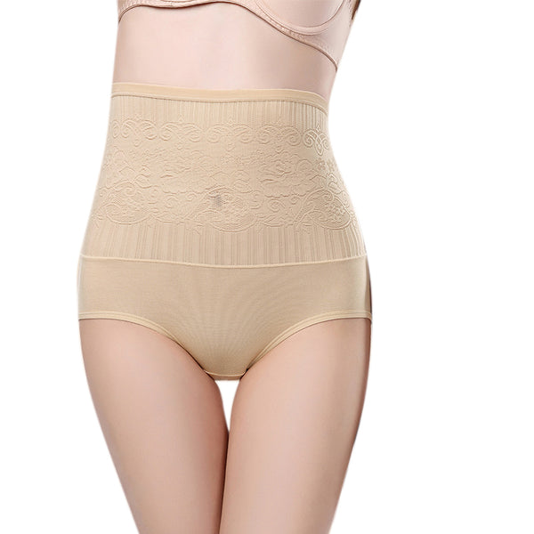 High waist panties underpants sexy cotton briefs shaper body shaper seamless tummy