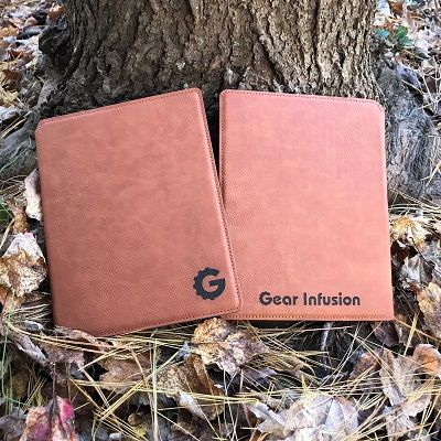 Custom Lasered Gear Infusion Notebook