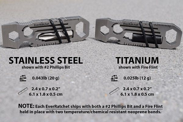 EverRatchet Multitool Material and Specifications
