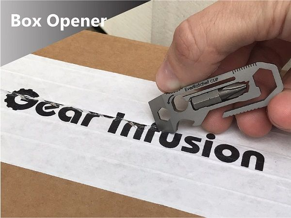 EverRatchet Clip Ratcheting Keychain Multitool