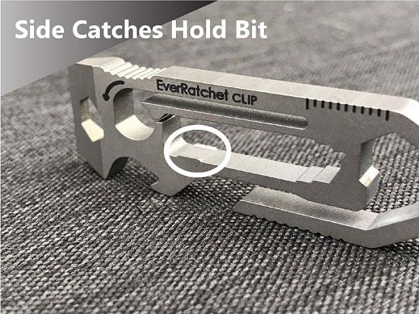 EverRatchet Clip Ratcheting Keychain Multitool - GearInfusion