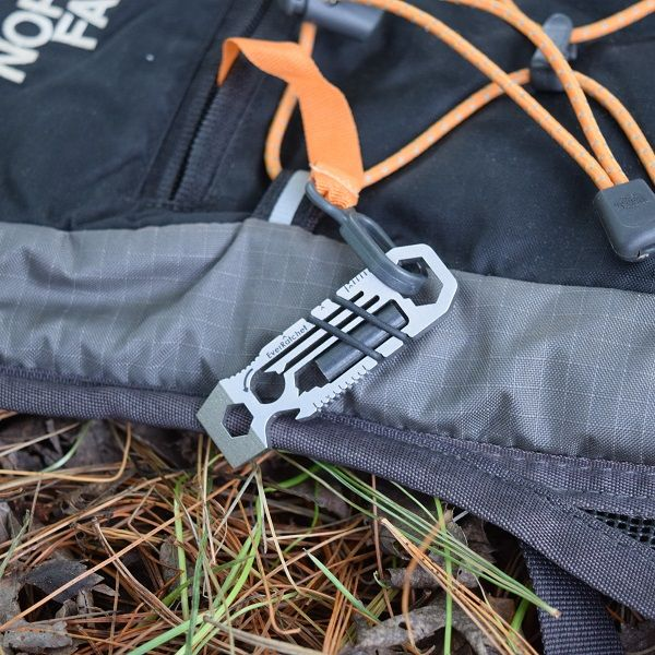 EverRatchet Ratcheting Keychain Multitool - Gear Infusion