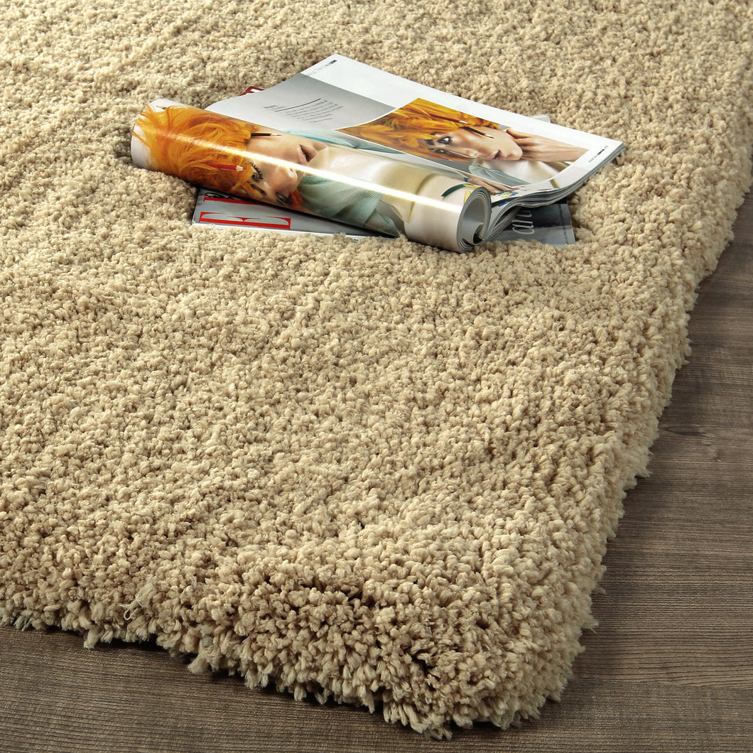 Norcho Non slip Absorption Shower Rug Soft Microfiber Antibacterial Rubber Luxury Bath Mat 2.6x3.9ft Khaki