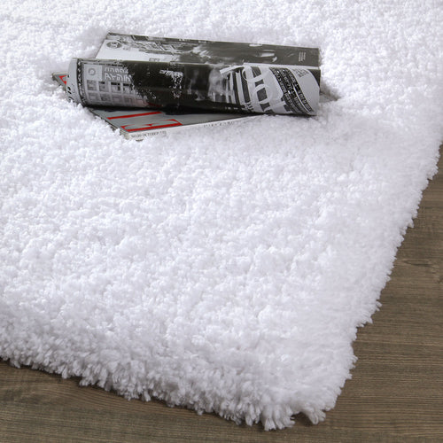 Norcho 31.5 by 47.3 inch Bathroom Mat Soft Rug Door Mat Water Absorbent Antibacterial with Anti Slip Rubber Back Luxury, White
