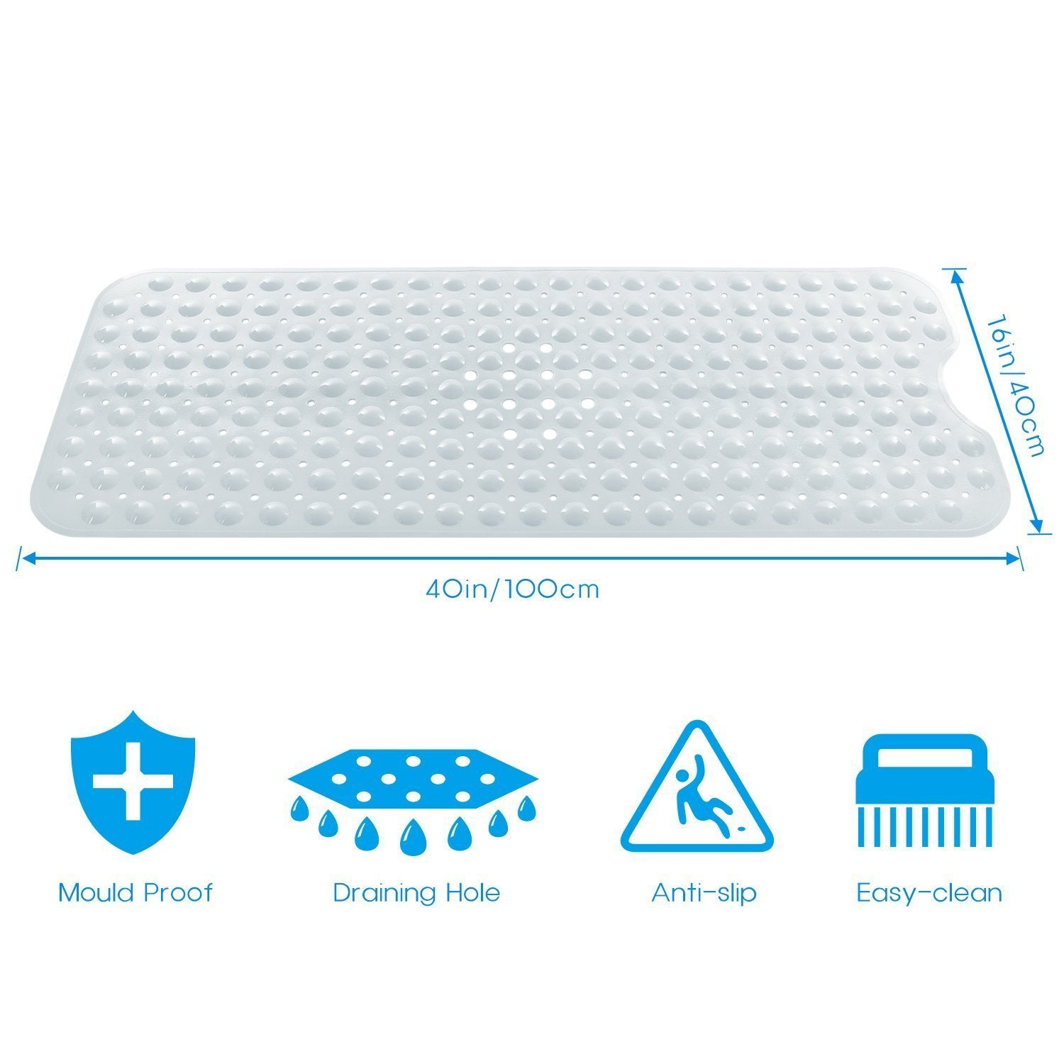 pillow deluxe click to with bathtub expand foam white p x spa mat