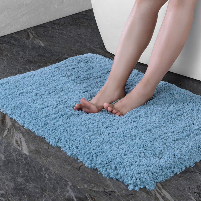 Norcho Bathroom Mat Soft Rug Door Mat Water Absorbent Antibacterial with Anti Slip Rubber Back Luxury, 31