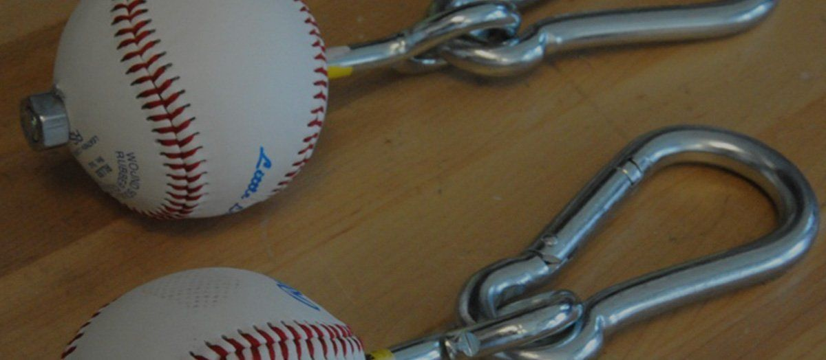 Make Your Own Baseball Pull-Up Grips