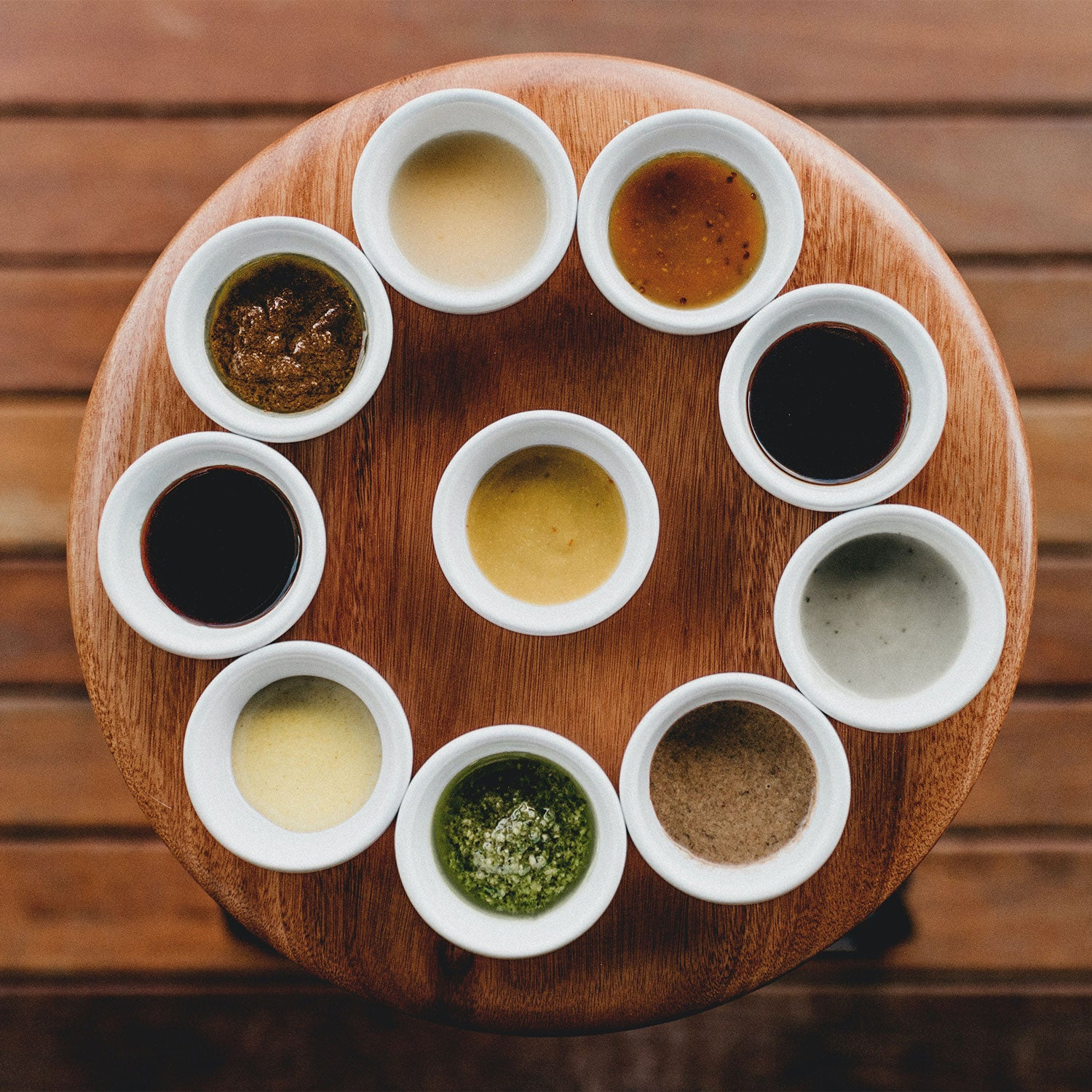 different types of dipping sauces