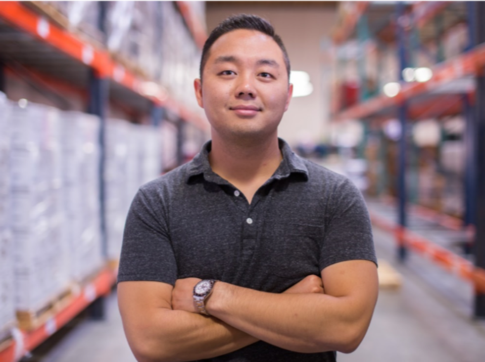image of Eugene Kang co-founder of Country Archer Provisions forbes