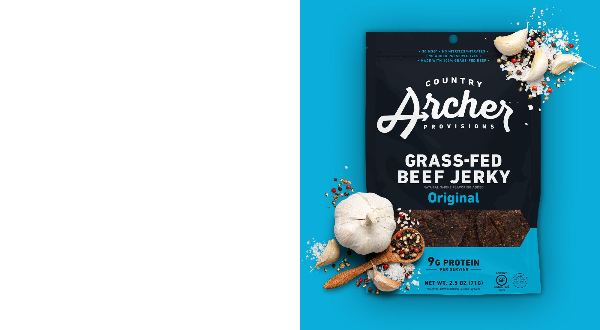 Country Archer Grass-Fed Beef Jerky