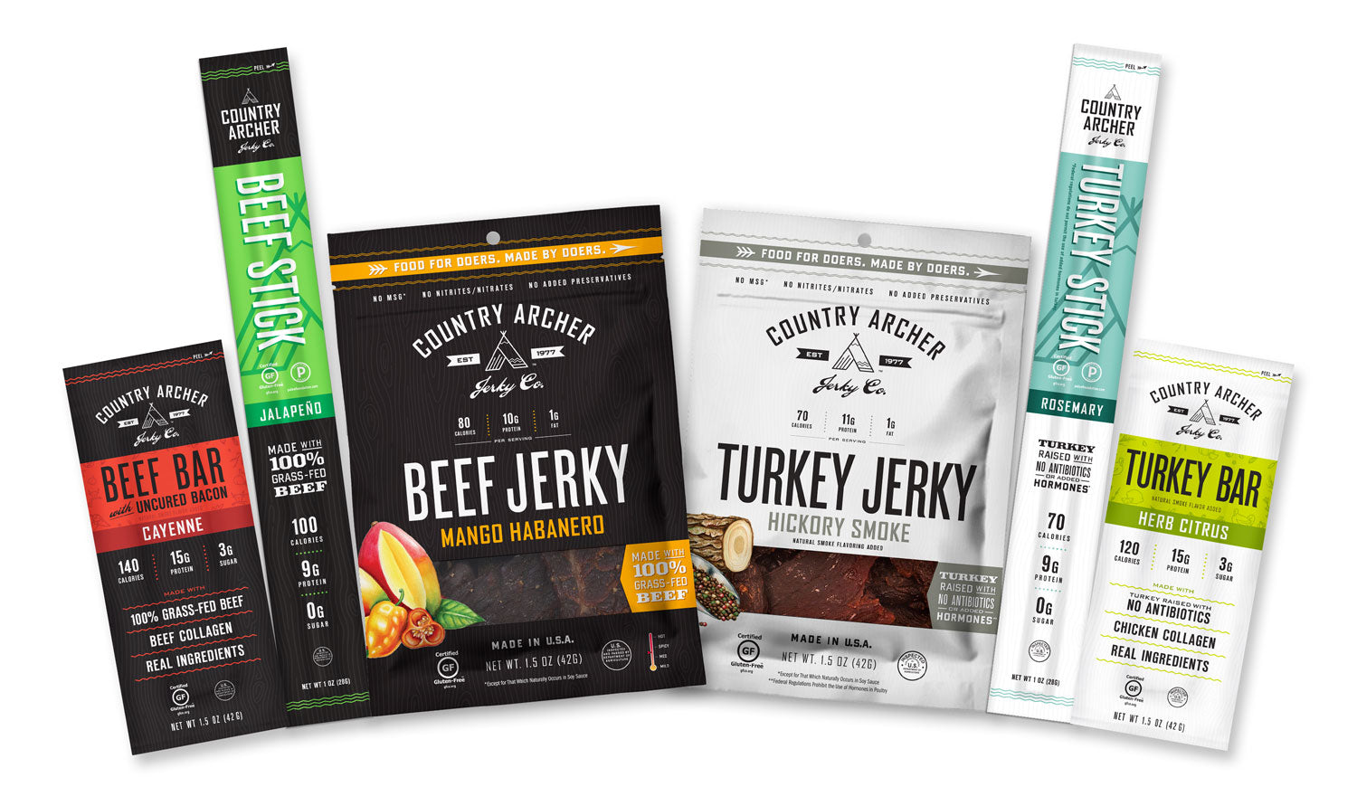 Jerky, Bars and Sticks