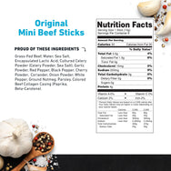 Mini Beef Stick Nutritional Information- product carousel image