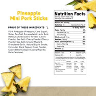 Mini Pork Stick Pineapple Nutritional Information