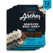 Grass-Fed Beef Jerky 1 oz 12 pack- product carousel image