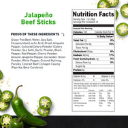 Jalapeno Beef Stick Nutritional Information