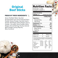 Original Beef Stick Nutritional Information
