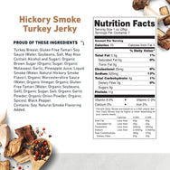 Turkey Jerky Hickory Smoke Nutritional Information