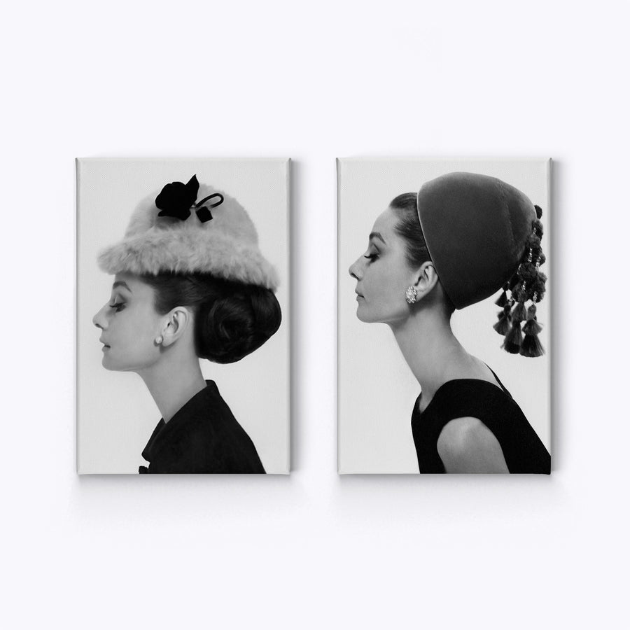 Audrey Hepburn Breakfast at Tiffany`s Pop Art Iconic Wall Art Canvas Prints Metal Prints