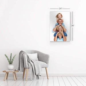 CUSTOM METAL WALL ART PRINTS PERSONALIZED PHOTO HORIZONTAL WALL DECOR PICTURE PUT YOUR PHOTO ON PHOTO PRINTS WALL ART