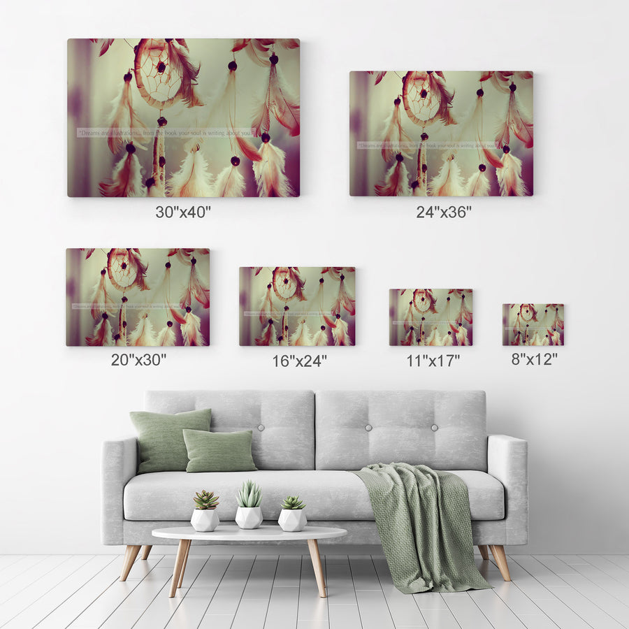 Dreamcatcher Wall Art Canvas Prints Metal Prints