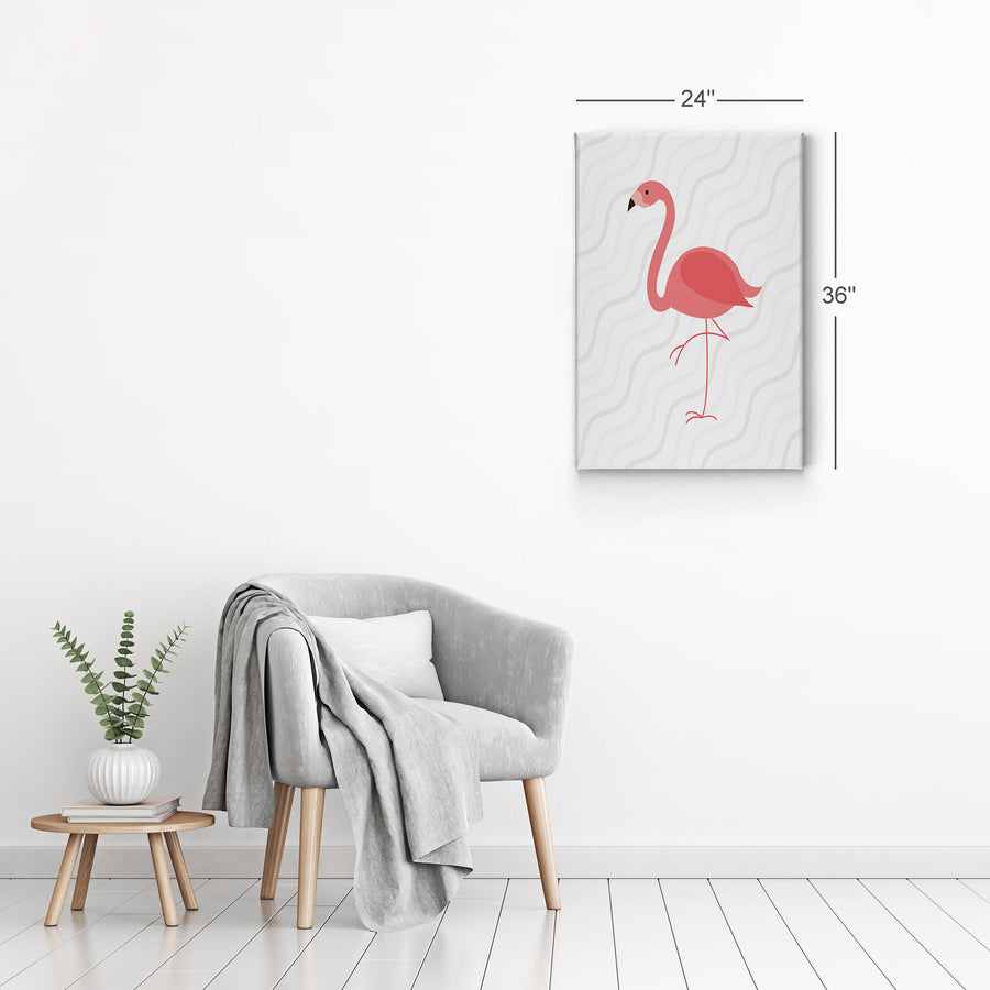 Flamingo art Painting Wall Art Canvas Prints Metal Prints