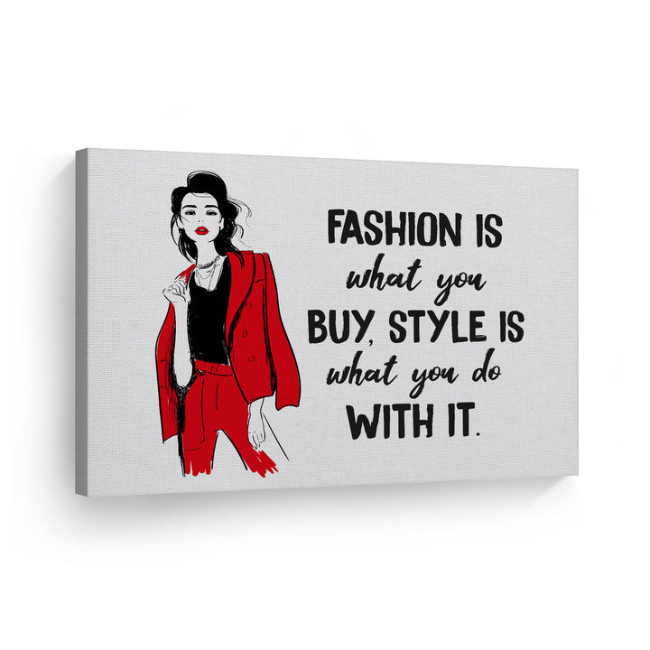 Woman Glam Fashion Wall Art Artwork Painting Wall Art Canvas Prints Metal Prints